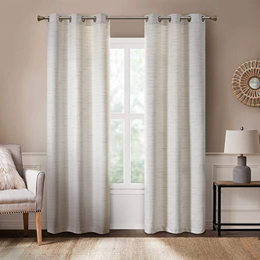 Amazon.com: Rustic Modern Farmhouse Curtains | Kitchen, Living .