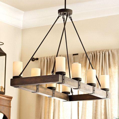 Arturo 8 Light Chandelier | Ballard Designs in 2020 | Dining room .