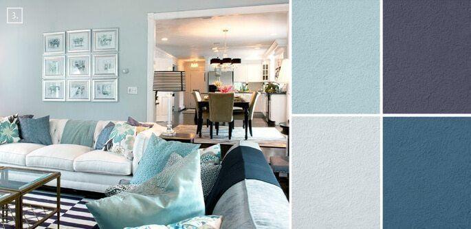 33 Trendy Living Room Colors, Trendy Living Room Color Schemes .