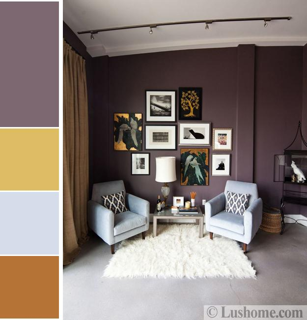 Fashionable and Modern Living Room Colors