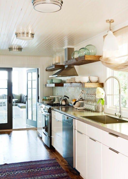 LovingFlushMountLighting - Design Chic | Kitchen lighting design .