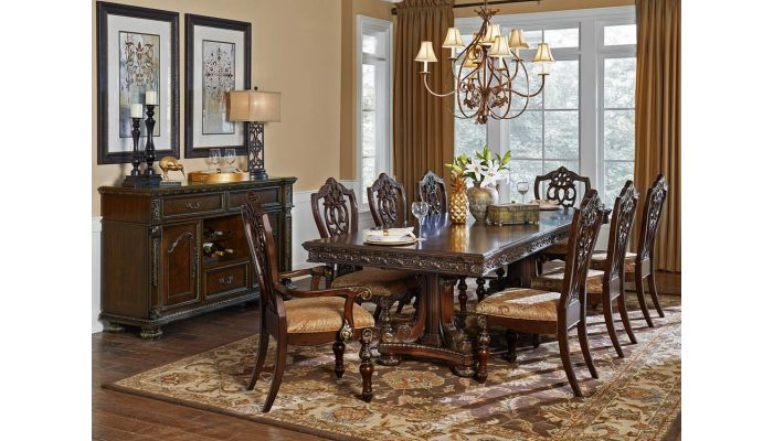 Pecardo Traditional Style Formal Dining Room S