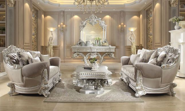Luxurious Traditional Style Formal Living Room Set HD-3