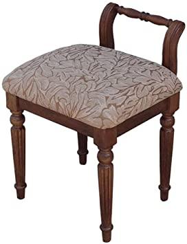 Amazon.com: Makeup stool, creative back makeup stool bedroom bed .