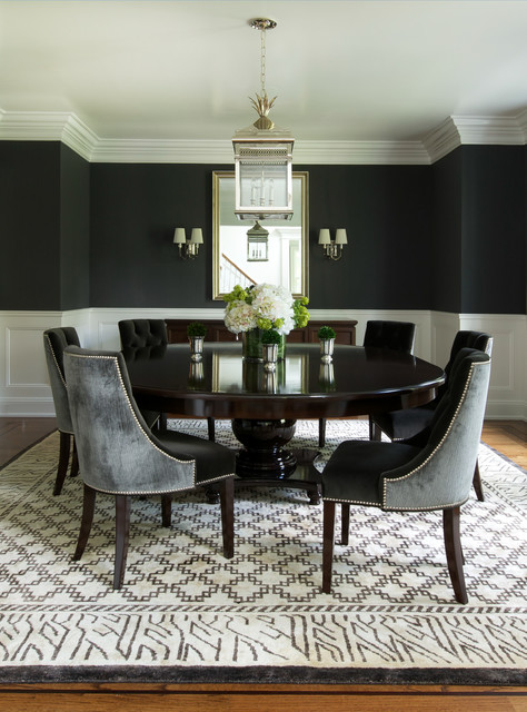 Color Feast: When to Use Black in the Dining Ro