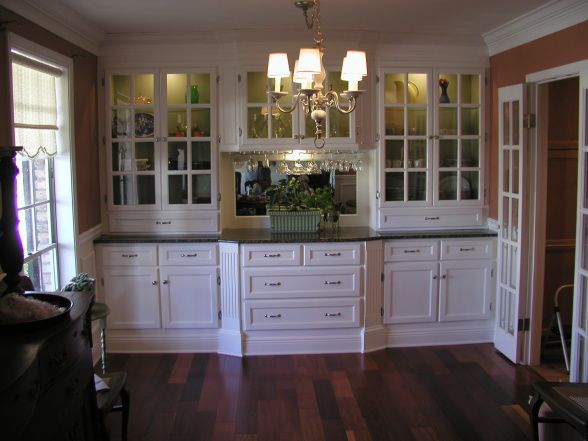 China/Storage Cabinet | Dining room cabinet, Built in buffet .