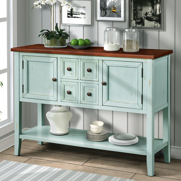 """SEGMART Dining Buffets and Sideboards, 46"""" Buffet Cabinet ."""
