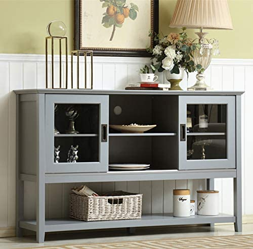 """Amazon.com - Mixcept 55"""" Modern and Contemporary Sideboard Buffet ."""