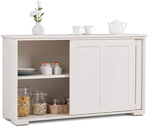 Amazon.com - Costzon Kitchen Storage Sideboard, Antique Stackable .
