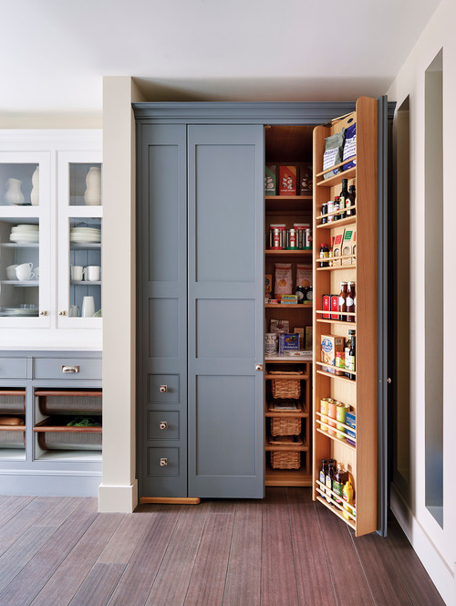 Unique And Clever Kitchen Storage Solutions Pantry Traditional .