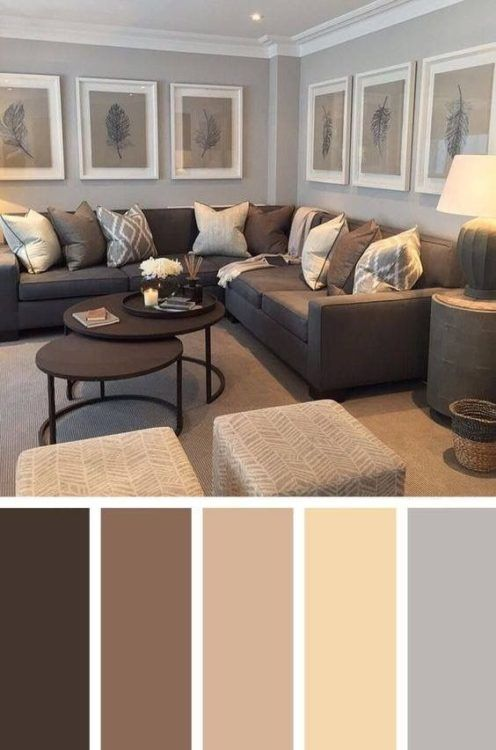 25+ Best Living Room Color Scheme Ideas and Inspiration | Living .