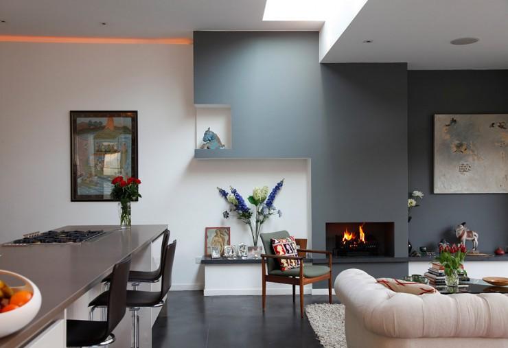 69 Fabulous Gray Living Room Ideas & Walls | Accent Colors | Decohol