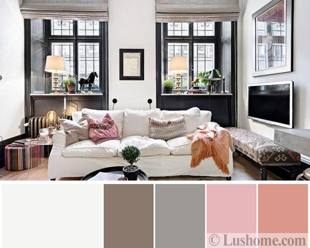 Stylish, Fresh Color Design Ideas for Modern Living Rooms, 15 .