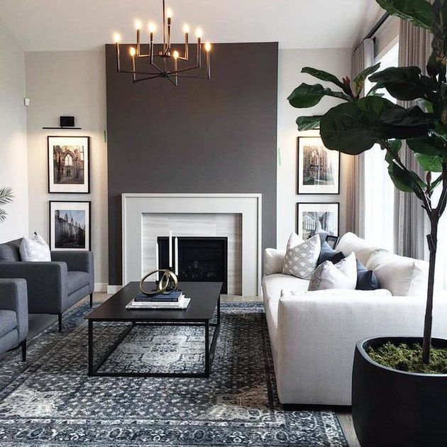 23 Gray Living Room Paint Colors Sherwin Williams Accent Walls .