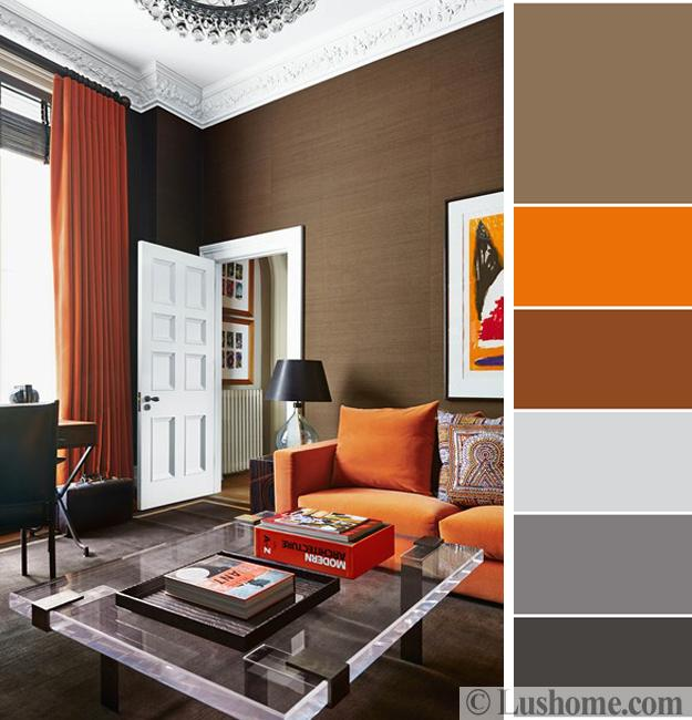 5 Beautiful Orange Color Schemes to Spice up Your Interior Desi
