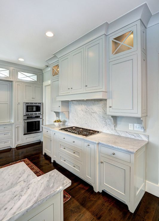 Kitchen Benjamin Moore Gray Owl | Painted kitchen cabinets colors .