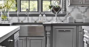 32 Best Gray Kitchen Ideas - Photos of Modern Gray Kitchen .
