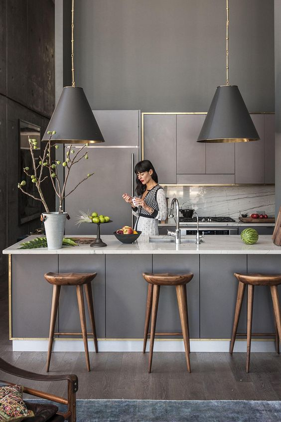 Kitchen With Gray Cabinets: Why To Choose This Trend | Decohol