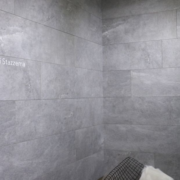 China 600*1200mm Bathroom Light Grey Granite Stone Floor/Wall .