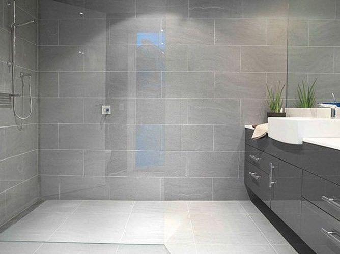 1 MLN Bathroom Tile Ideas in 2020 | Light grey bathrooms, Bathroom .