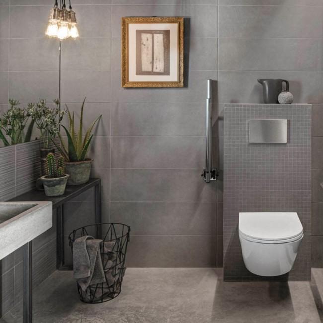 Berlin Grey | Bathroom Wall Tiles | Porcelain Supersto