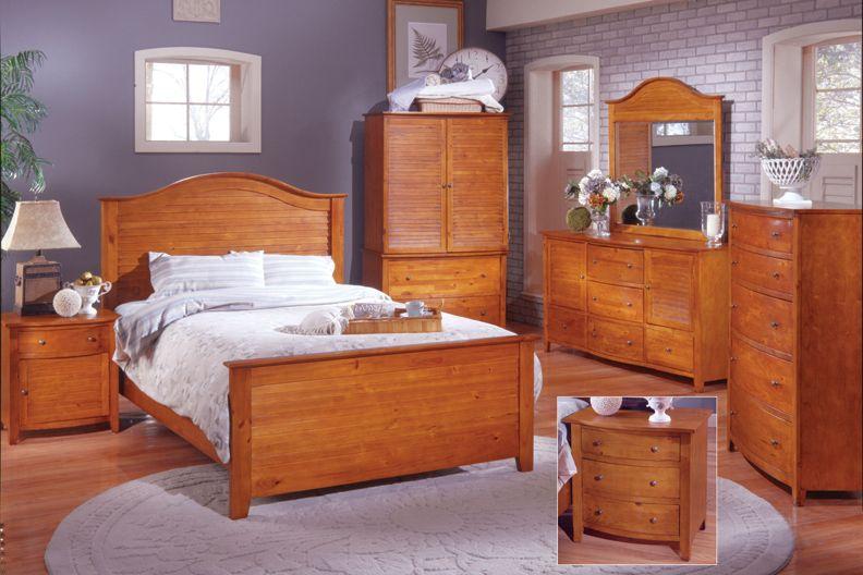 Pine with grey walls | Pine bedroom furniture, Pine furniture .