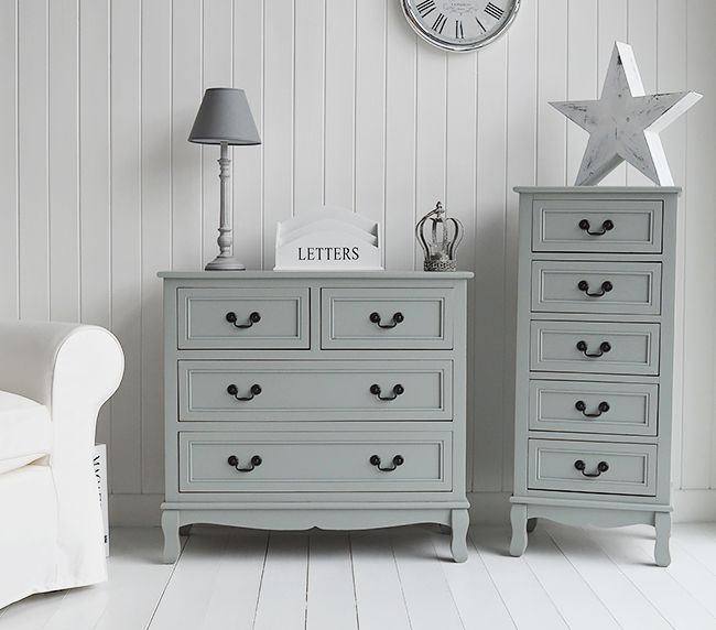 Berkeley grey chest of drawers furniture for bedroom, living, hall .