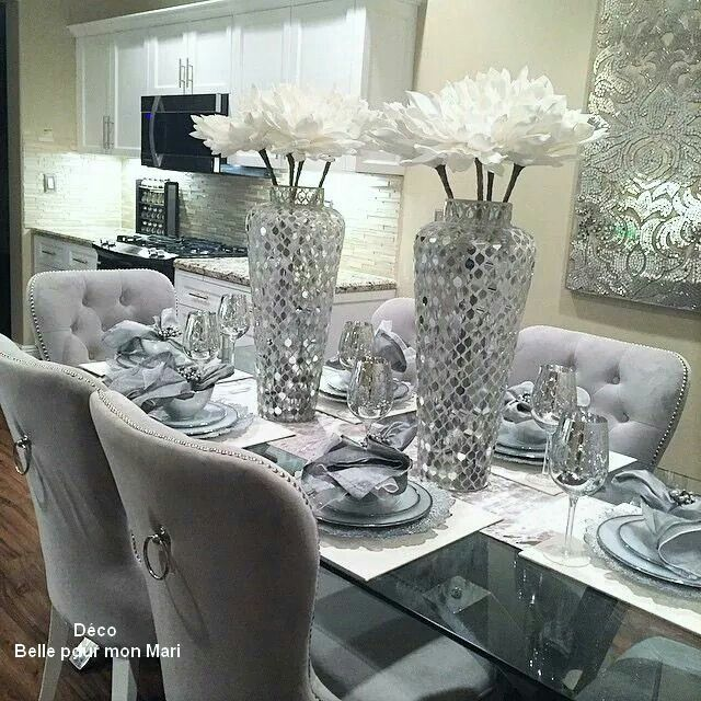 Decoración | Dinning room decor, Modern dining room, Dining room .