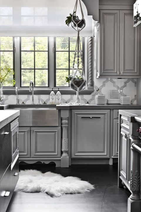 14 Best Grey Kitchen Cabinets - Design Ideas with Grey Cabine