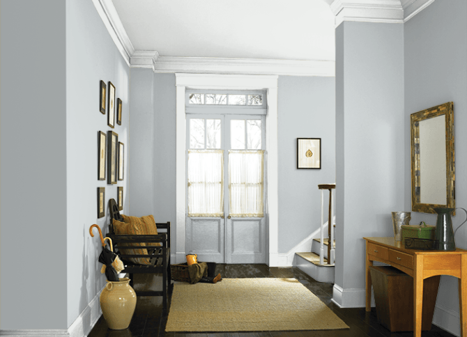 The Best Blue Gray Paint Colors | Living room colors, Living room .