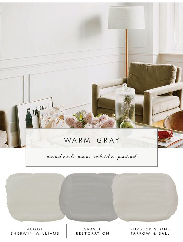 Our Guide to the Best Neutral Paint Colors (That Aren't White .