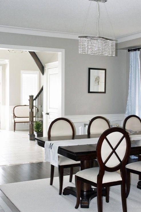 Benjamin Moore Revere Pewter.more perfect living room grey .