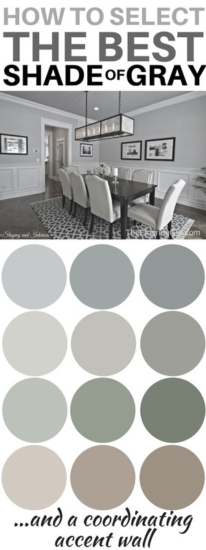 What are the most popular shades of gray paint? | The Flooring Gi