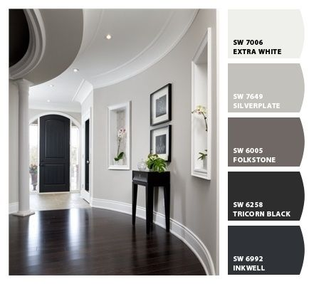 Grey Paint Colors for the Home | Home, House interior, House colo