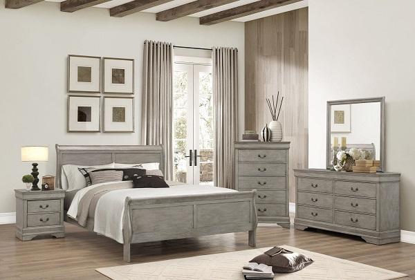 Grey Queen Bedroom Set