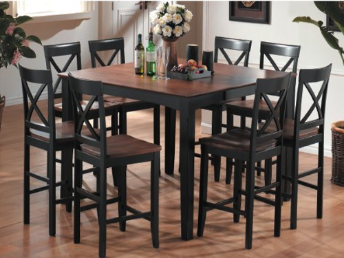 Best Cheap Pub High Dining Tables: Square Counter High Pub Table .