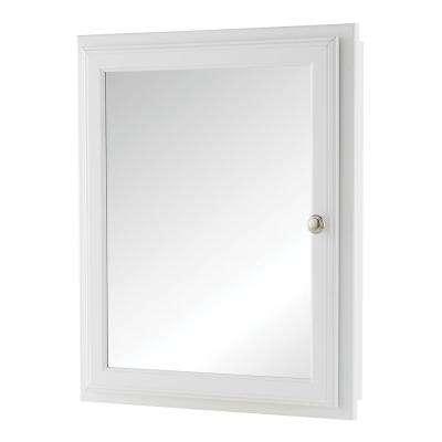 Reversible - White - Medicine Cabinets - Bathroom Cabinets .