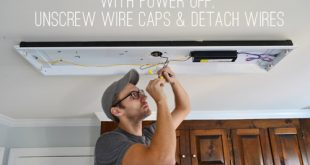 How To Replace Fluorescent Lighting With A Pendant Fixture | Young .