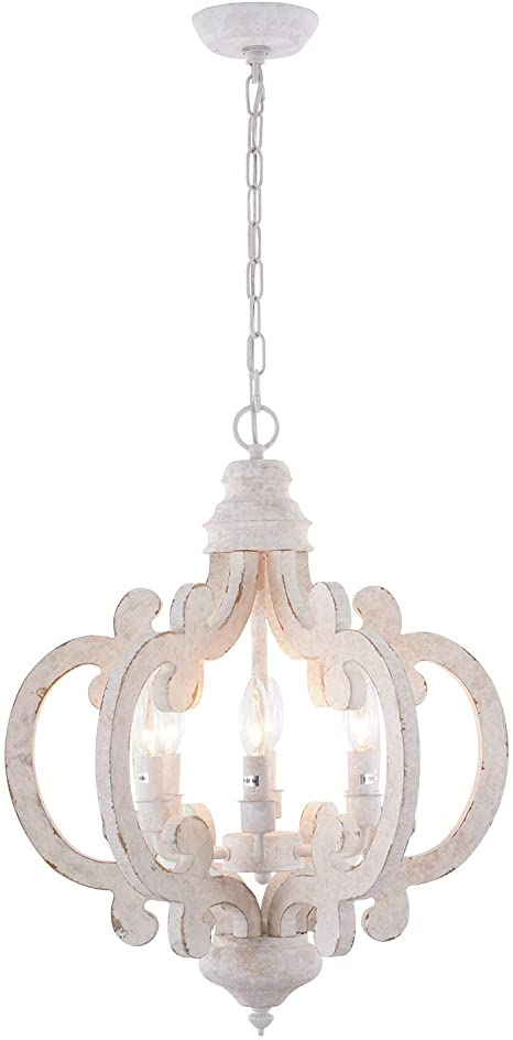 Amazon.com: HMVPL 6-Lights Wooden Farmhouse Pendant Lighting .