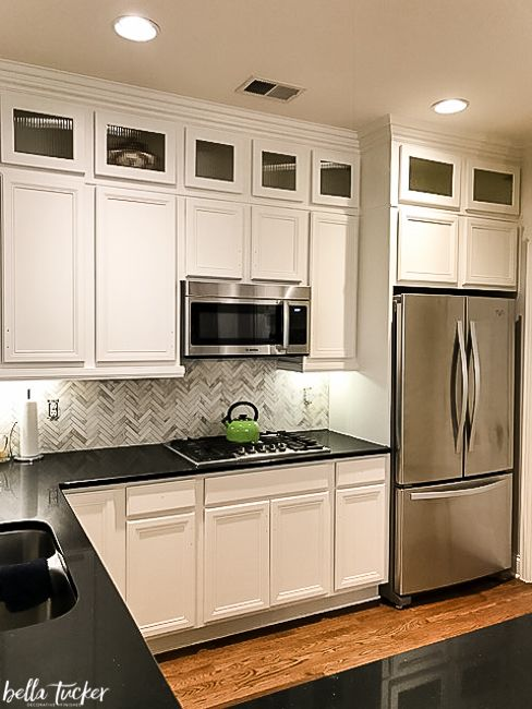 The Best Kitchen Cabinet Paint Colors - Bella Tucker | White .