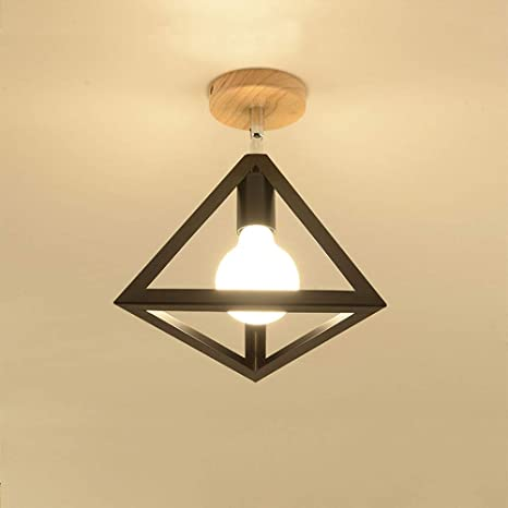 Amazon.com: Flush Mount Ceiling Light Fixtures E26 Base, Vintage .