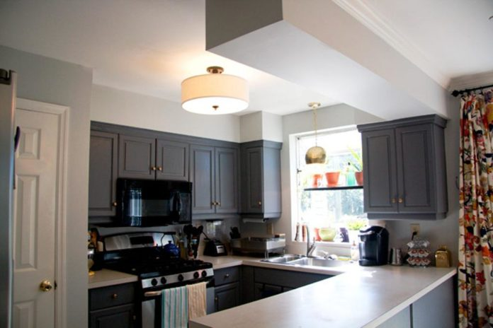 Kitchen Ceiling Lights Ideas for Kitchen That Feature Low Ceili