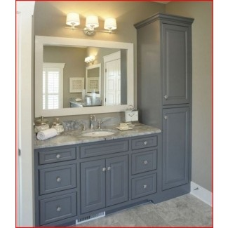 Tall Linen Cabinets For Bathroom for 2020 - Ideas on Fot
