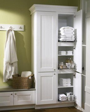 Free Standing Linen Cabinets - Ideas on Fot