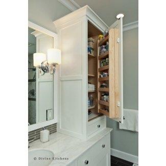 Bathroom Linen Tower - Ideas on Fot