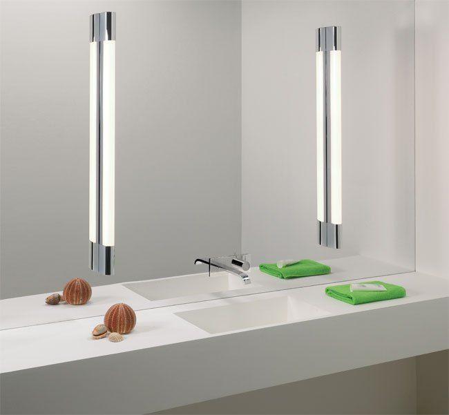 Bathroom Mirror Lighting   Bathroom led light fixtures, Mirror .