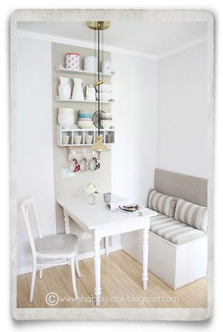 10 Stylish Table - Eat In Small Kitchen Ideas   Decohol