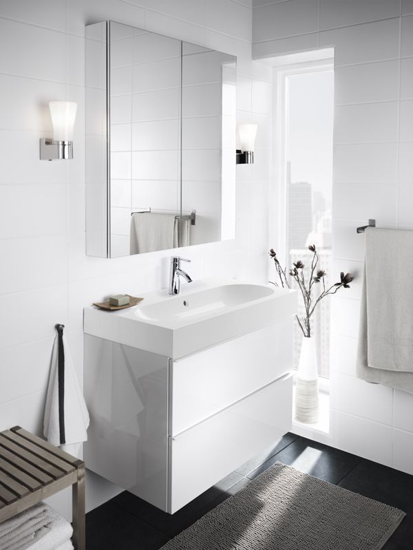 GODMORGON Bathroom Series - IKEA | Bathroom mirror cabinet .