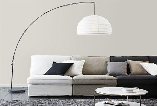 REGOLIT Floor lamp, arc - IKEA | Contemporary floor lamps, Modern .
