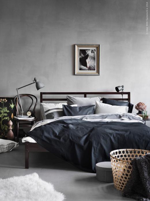 TARVA Bed frame - , Queen - IKEA | Home decor bedroom, Interior .